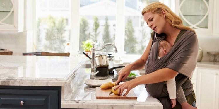 Etre une mère, c'est 14 heures de boulot par jour!