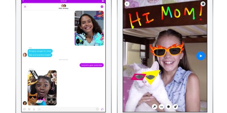 Messenger Kids : Facebook lance une messagerie destinée aux moins de 13 ans