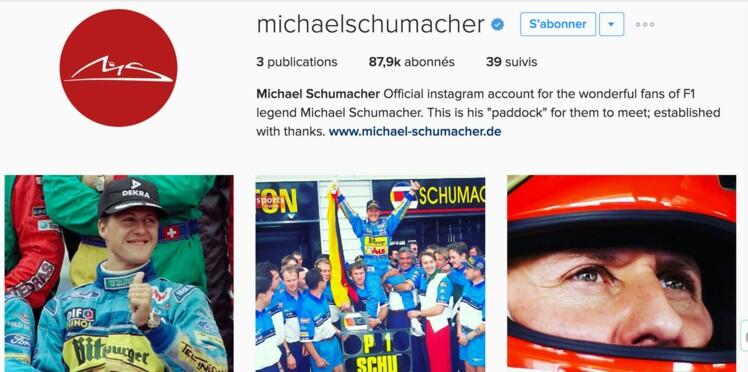 Michael Schumacher de retour sur les réseaux sociaux