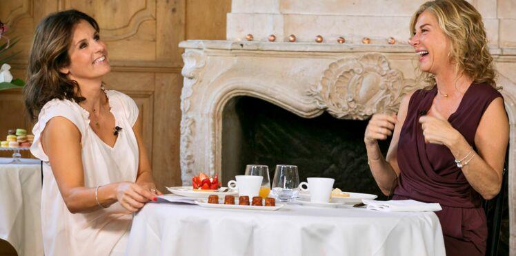 """Michèle Laroque parle """"surtout de la vie"""" avec son compagnon François Baroin"""