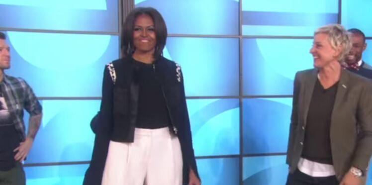 Michelle Obama totalement déchaînée à la télévision américaine