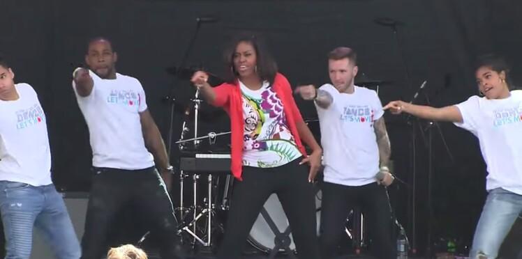 Michelle Obama met l'ambiance pour l'anniversaire de son association !