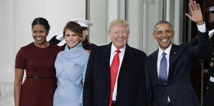 Michelle Obama dévoile enfin le cadeau offert par Melania Trump qui l'avait tant gênée