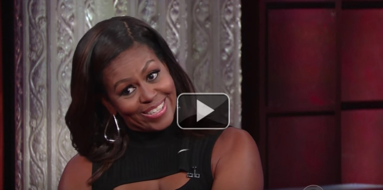 Michelle Obama imite Barack Obama (et c'est très drôle)