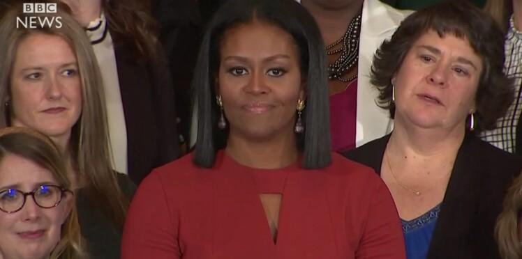 VIDEO - Le très touchant dernier discours de Michelle Obama à la Maison Blanche
