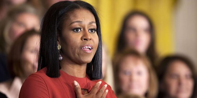 """Michelle Obama : """"Après 8 ans à travailler pour mon pays, il y en a toujours qui ne voient que ma couleur de peau"""""""
