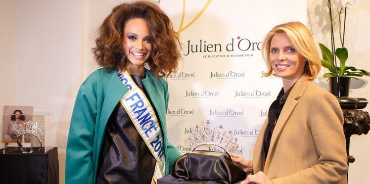 Photos - Miss France 2018 : Alicia Aylies et Sylvie Tellier dévoilent la nouvelle couronne