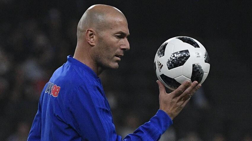 Mondial 2018 : Zinédine Zidane, très fier, félicite les Bleus