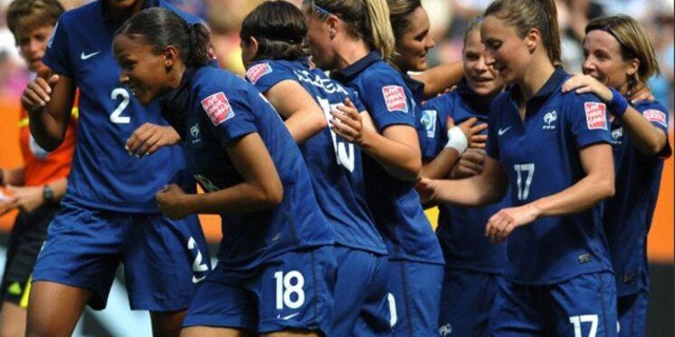 L'équipe de France féminine de football en demi-finale !