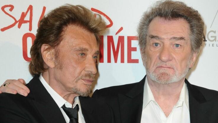 """Mort de Johnny Hallyday : le magnifique message d'amour de son """"frère"""", Eddy Mitchell"""