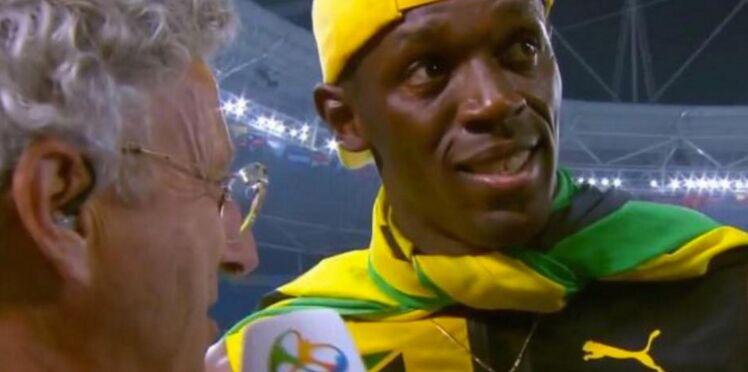 Nelson Monfort moqué sur la Toile après son interview d'Usain Bolt à Rio
