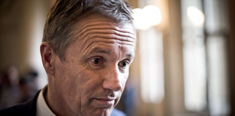 """Nicolas Dupont-Aignan : la grosse bourde sur son site des """"Amoureux de la France"""""""