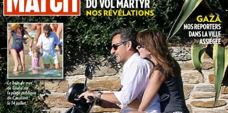 Nicolas et Carla Sarkozy : et le casque, monsieur le Président ?