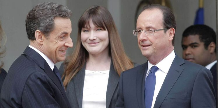 "Nicolas Sarkozy accuse François Hollande d'avoir ""maltraité"" sa femme Carla Bruni"