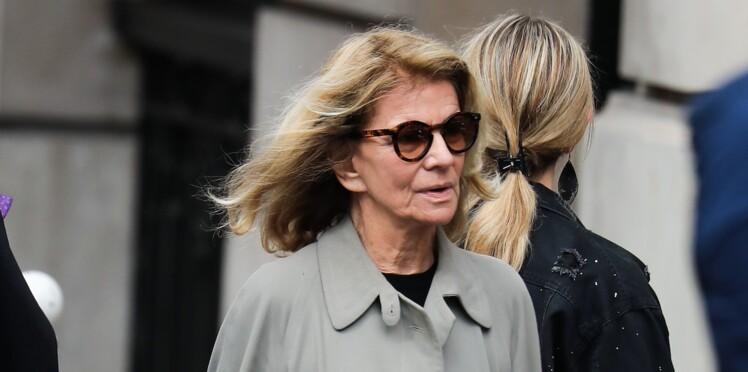 Obsèques de Jean Rochefort : son ex-compagne, Nicole Garcia, et leur fils Pierre, bouleversés