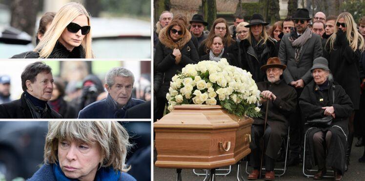 PHOTOS - Obsèques de Michèle Morgan : sa famille et ses amis people venus lui dire au revoir