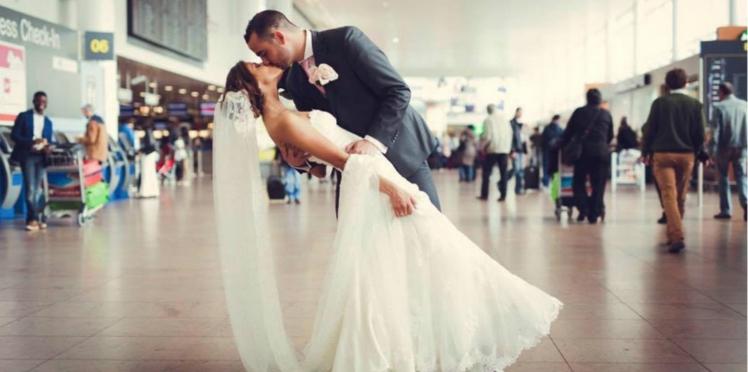 Ode à l'amour dans l'aéroport de Bruxelles