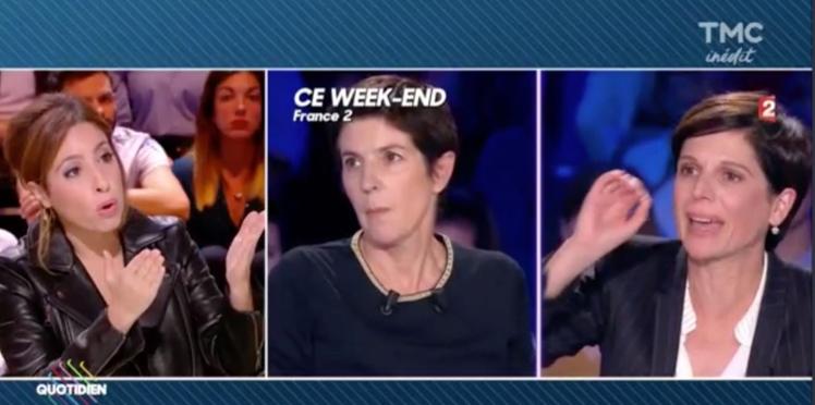 Polémique On n'est pas couché : Léa Salamé défend fermement Christine Angot