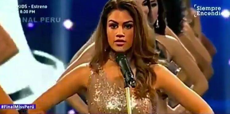 Au Pérou, les Miss utilisent leurs mensurations pour dénoncer les violences faites aux femmes