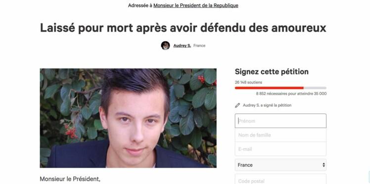 Une pétition demande la Légion d'honneur pour Marin qui a frôlé la mort en aidant un couple