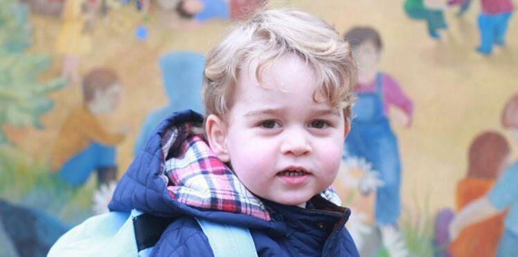 Une nouvelle photo du prince George, toujours aussi craquant !