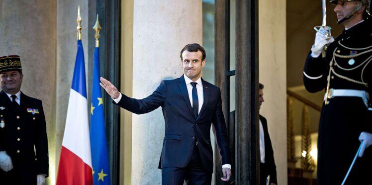 Photo – Le cliché d'Emmanuel Macron que l'Élysée voulait éviter