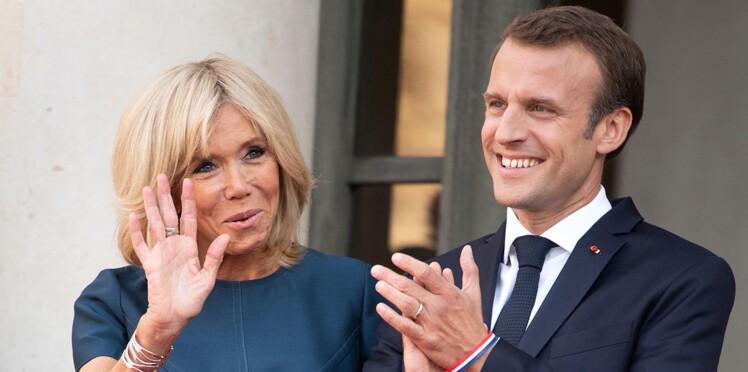 Photo – Un cliché intime et inédit du couple Macron à l'Elysée dévoilé