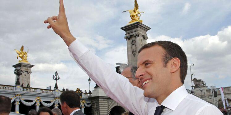 Découvrez la photo officielle d'Emmanuel Macron et le making-off en vidéo
