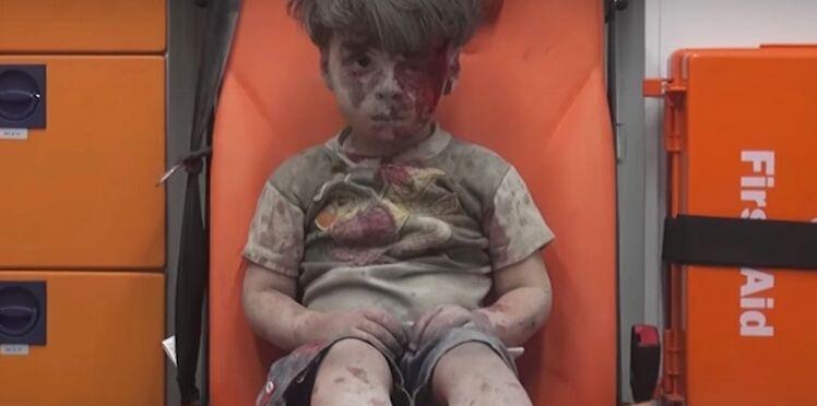 Photo : Omran, 5 ans, visage de la guerre en Syrie