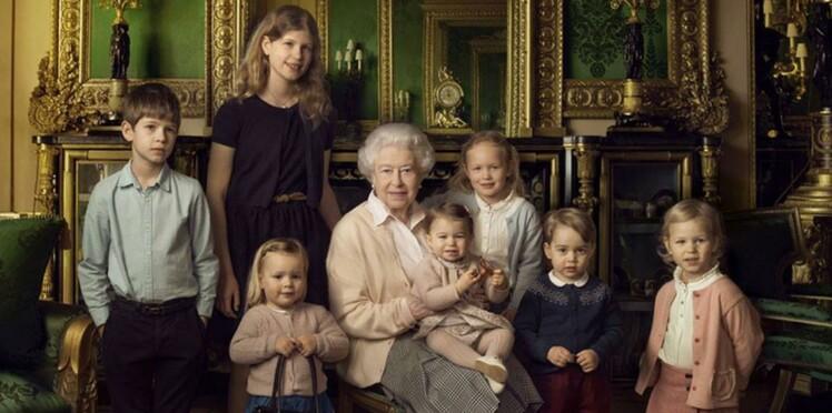(photos) 90 ans de la reine Elizabeth : George, Charlotte, et tous les autres petits autour d'elle