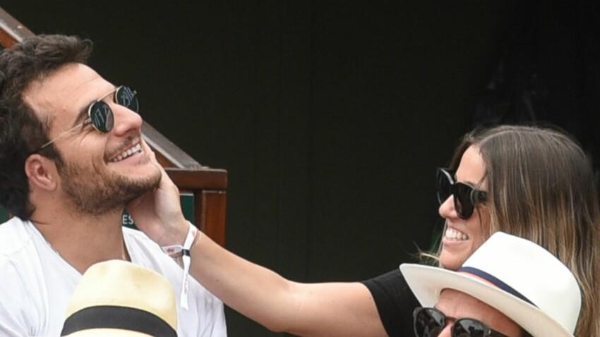 Photos - Amir et sa femme Lital, complices à Roland-Garros