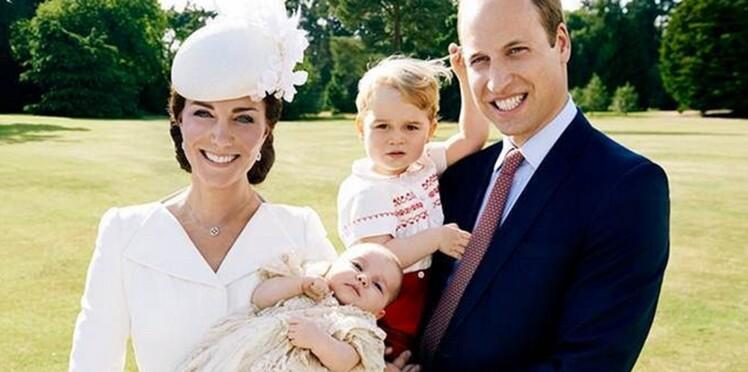 Photos : Le baptême de la princesse Charlotte (et George toujours aussi craquant)