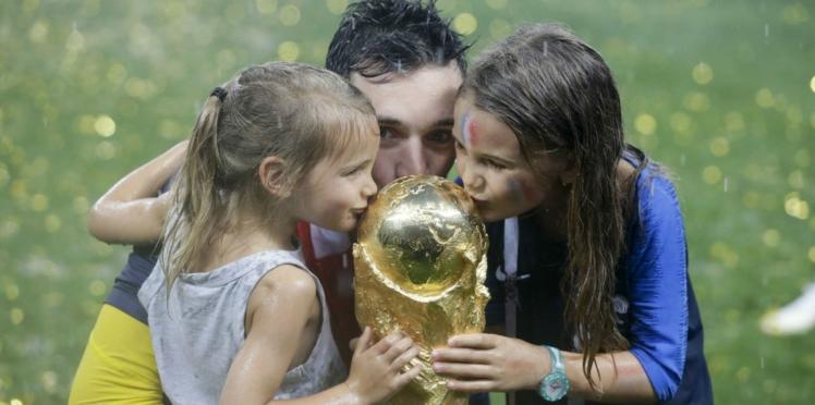 Photos - Coupe du monde 2018 : les Bleus fêtent la victoire avec leurs enfants