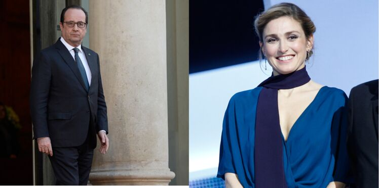 Julie Gayet en week-end avec François Hollande à la Lanterne