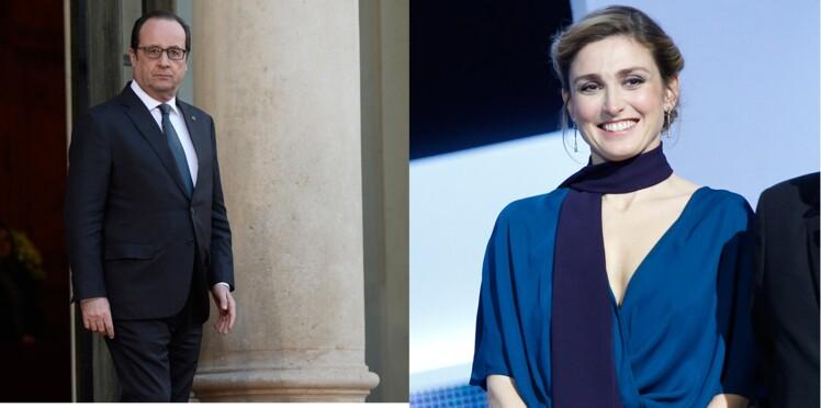 Julie Gayet en week-end avec François Hollande à la Lanterne
