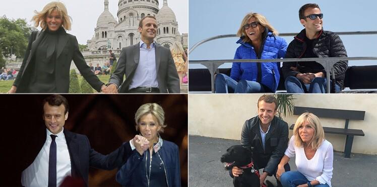 Photos - Emmanuel et Brigitte Macron fêtent leurs dix ans de mariage : leur histoire en images