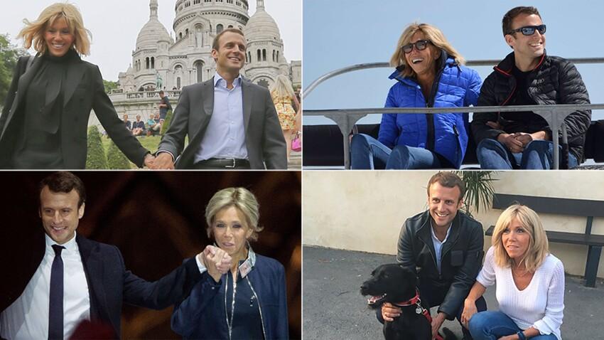 Photos Emmanuel Et Brigitte Macron Fetent Leurs Dix Ans De Mariage Leur Histoire En Images Femme Actuelle Le Mag