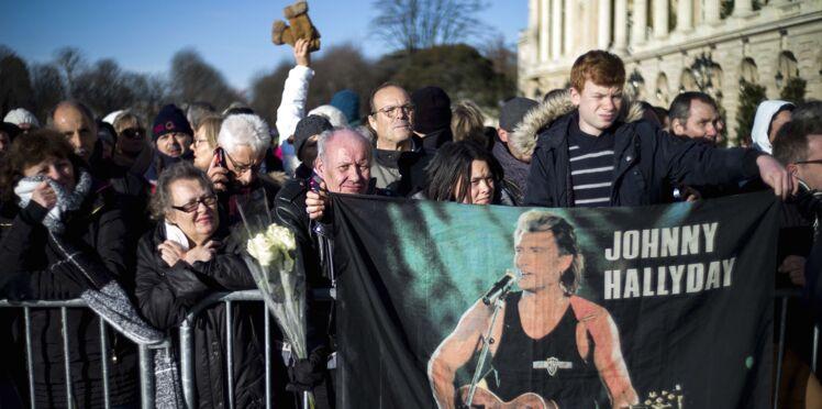 Photos - Les images les plus émouvantes de l'hommage à Johnny Hallyday