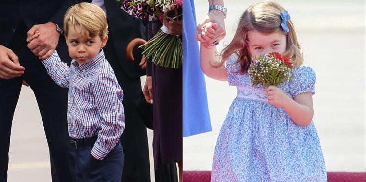 Photos – Famille royale : les clichés les plus mignons de George et Charlotte