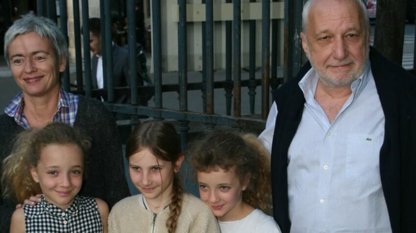 Photos - François Berléand : sortie en famille à la fête foraine avec ses jumelles Adèle et Lucie