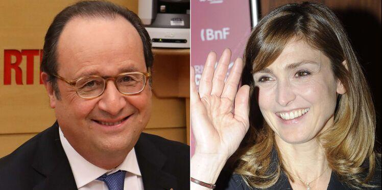 Photos – François Hollande et Julie Gayet, en balade à la plage, vivent leur amour au grand jour