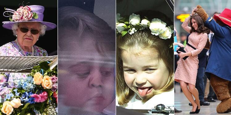 Photos – Grimaces, galipettes, chutes, fous rires… les clichés les plus drôles de la famille royale