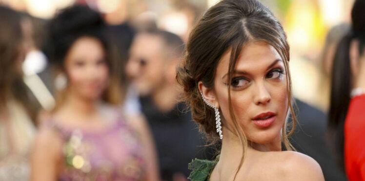 Photos - Iris Mittenaere (Miss Univers), en transparence et décolleté, a affolé la Croisette