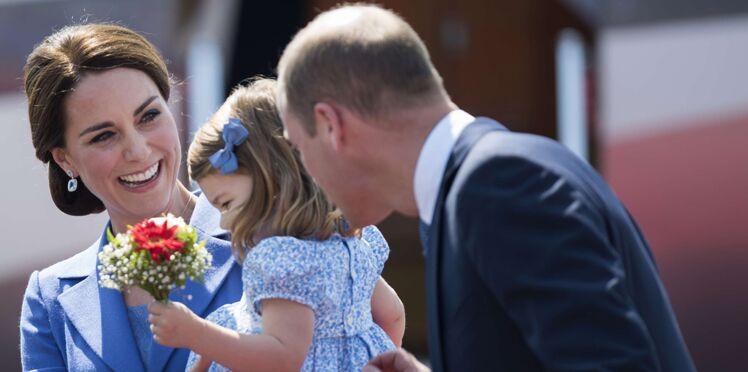Photos – Kate et William : leur petite Charlotte, irrésistible en Allemagne