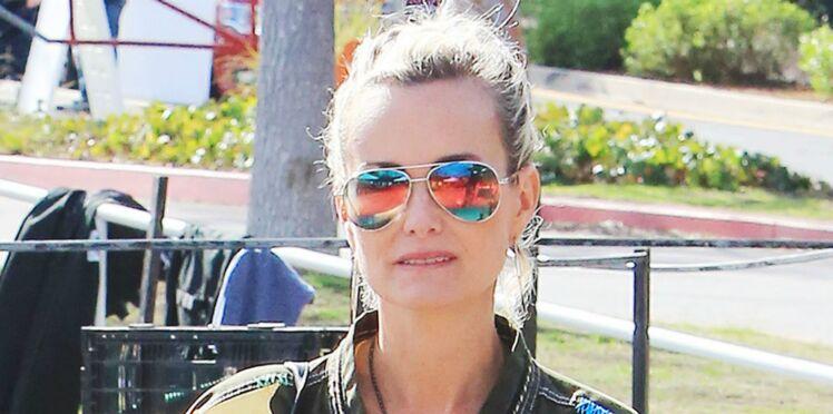 Photos - Laeticia Hallyday retrouve le sourire à Los Angeles avec Jade et Joy