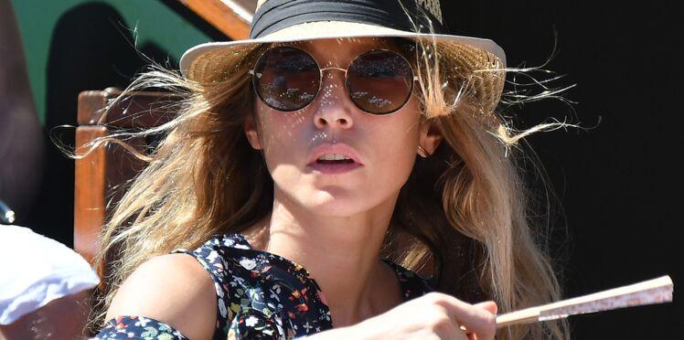Photos – Laura Smet, amoureuse à Roland-Garros