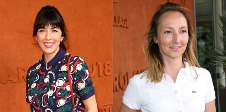 Photos – Estelle Lefébure, Denis Brogniart, Audrey Lamy... Les stars s'éclatent à Roland-Garros