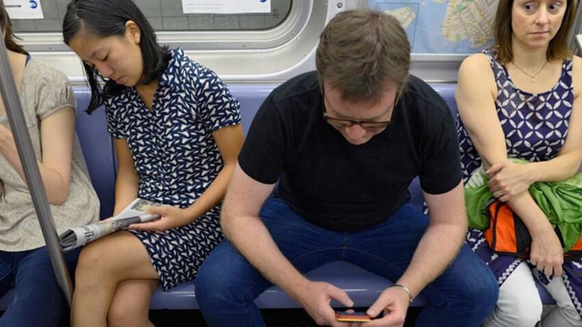 "Photos - Le ""Manspreading"", incivilité ou sexisme ?"