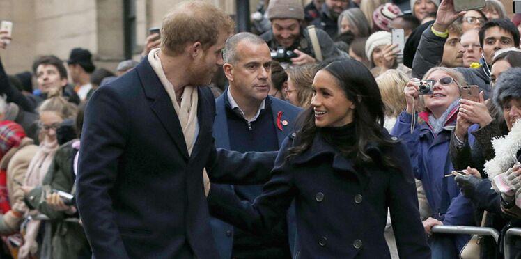 Photos – Meghan Markle et le prince Harry : découvrez tous les clichés de leur première sortie officielle