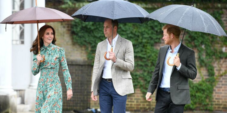 Photos - Mort de Diana : Harry et William lui rendent hommage, accompagnés de Kate Middleton